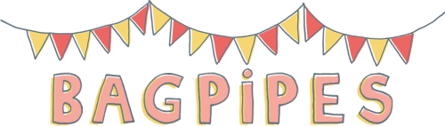 bagpipes logo